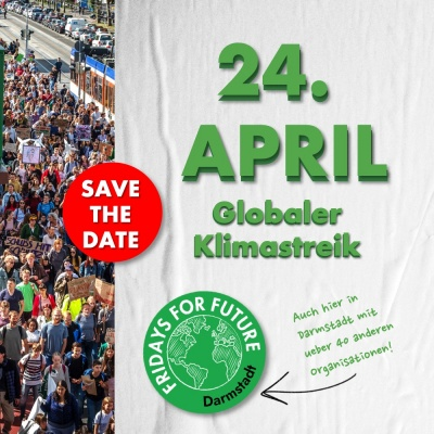 GLOBALER KLIMASTREIK AM 24. APRIL 2020