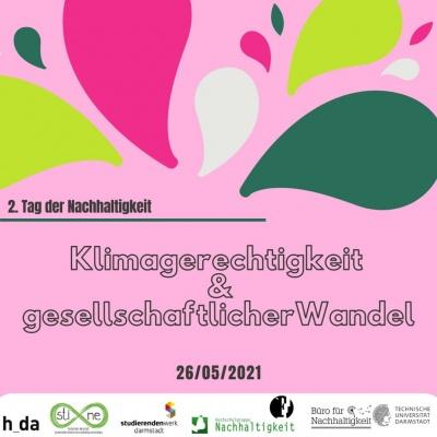 """2. Tag der Nachhaltigkeit """"Klimagerechtigkeit & gesellschaftlicher Wandel"""""""