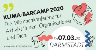 Klima Barcamp am 7.03.2020